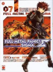 Full Metal Panic! Sigma -7- Tome 7