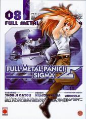 Full Metal Panic! Sigma -8- Tome 8