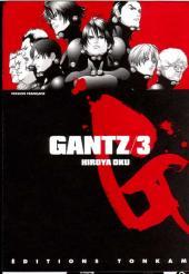 Gantz -3- Gantz 3