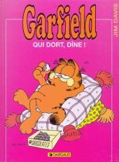Garfield -8a1996- Qui dort, dîne !