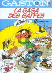 Gaston (Fac-similés) -14TL- La saga des gaffes