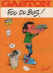 Gaston (Hors-série) -FB15- Fou du bus - SEMVAT