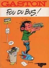Gaston (Hors-série) -FB17- Fou du bus - UTP