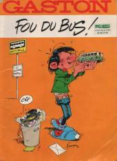 Gaston (Hors-série) -FB18- Fou du bus - Bus Verts du Calvados