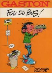 Gaston (Hors-série) -FB25- Fou du bus - STAS