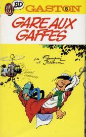 Gaston (Poche) -5- Gare aux gaffes