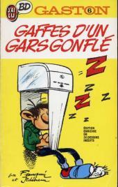 Gaston (Poche) -6- Gaffes d'un gars gonflé
