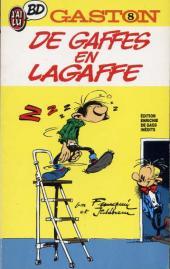 Gaston (Poche) -8- De gaffes en Lagaffe