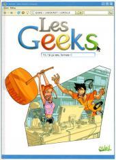 Les geeks -3- Si ça rate, formate !