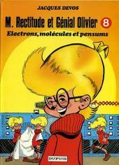 Génial Olivier -8a- Electrons, molécules et pensums