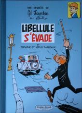 Gil Jourdan -1TL- Libellule s'évade - popaïne et vieux tableaux