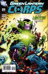 Green Lantern Corps (2006) -21- The Curse of the Alpha-Lantern, part one