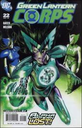 Green Lantern Corps (2006) -22- The Curse of the Alpha-Lantern, part two