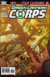 Green Lantern Corps (2006) -31- Sins of the Star Sapphire, part three: Empty-Handed Heart
