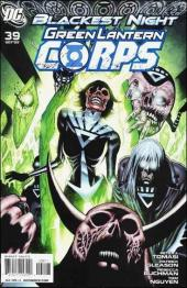 Green Lantern Corps (2006) -39- Fade to black