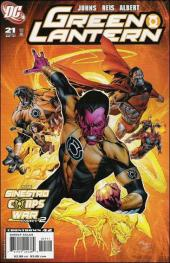 Green Lantern (2005) -21- Sinestro corps - chapter one: fear & loathing