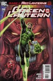 Green Lantern (2005) -36- Rage of the Red Lanterns, part two