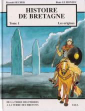 Histoire de Bretagne -1- De la terre des pierres à la terre des Bretons