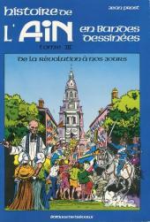 Histoire de l'Ain en bandes dessinées -3- De la Révolution à nos jours