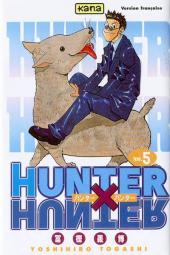 Hunter X Hunter -5- Tome 5 - Jin Freecss
