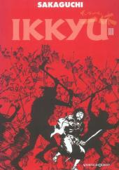 Ikkyu (Vents d'Ouest) -3- Tome 3
