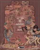 Les innommables (Premières maquettes) -1a- Aventure en jaune