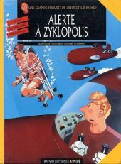 Les enquêtes de l'inspecteur Bayard -8- Alerte à Zyklopolis