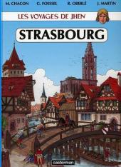Jhen (Les voyages de) -6- Strasbourg