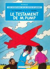 Jo, Zette et Jocko (Les Aventures de) -1B42- Le testament de M. Pump