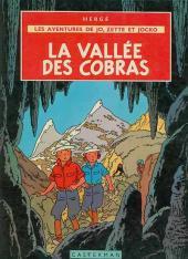 Jo, Zette et Jocko (Les Aventures de) -5B39- La vallée des cobras