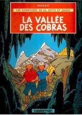 Jo, Zette et Jocko (Les Aventures de) -5B44- La vallée des cobras