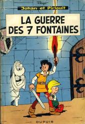 Johan et Pirlouit -10'- La guerre des 7 fontaines