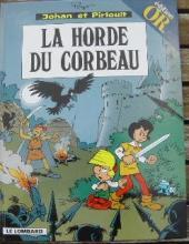 Johan et Pirlouit -14Or- La horde du corbeau