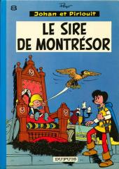 Johan et Pirlouit -8b73- Le sire de Montrésor
