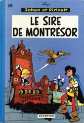 Johan et Pirlouit -8b75- Le sire de Montrésor