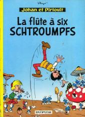 Johan et Pirlouit -9b1965- La flûte à six schtroumpfs