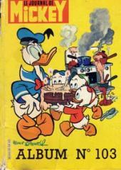 (Recueil) Mickey (Le Journal de) -103- Album n°103 (n°1594 à 1603)