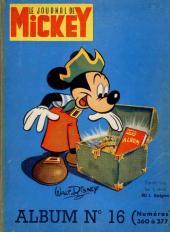 (Recueil) Mickey (Le Journal de) (1952) -16- Album n°16 (n°360 à 377)