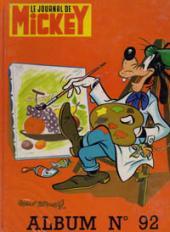 (Recueil) Mickey (Le Journal de) -92- Album n°92 (n°1483 à 1492)