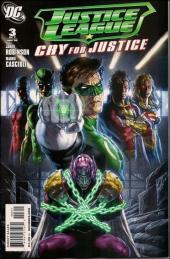 Justice League: Cry for justice (2009) -3- The villain