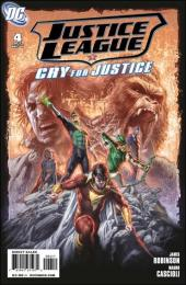 Justice League: Cry for justice (2009) -4- The fix
