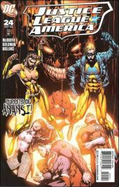 Justice League of America (2006) -24- The second coming, part 3: the blood dimmed tide