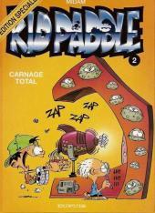 Kid Paddle -2ES- Carnage Total