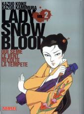 Lady Snowblood -2- Qui sème le vent récolte la tempête