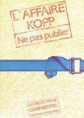 L'affaire Kopp - Ne pas publier