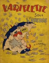 Lariflette -2- Lariflette sous l'averse