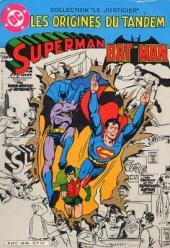Batman (collection Le Justicier) -3- Les origines du tandem Superman et Batman