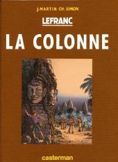 Lefranc -14TT- La colonne