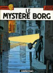 Lefranc -3b1986- Le mystère Borg