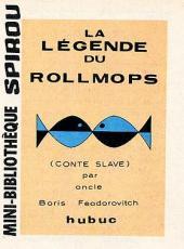 La légende du Rollmops -1MR1452- La Légende du Rollmops (conte slave) par oncle Boris Feodorovitch